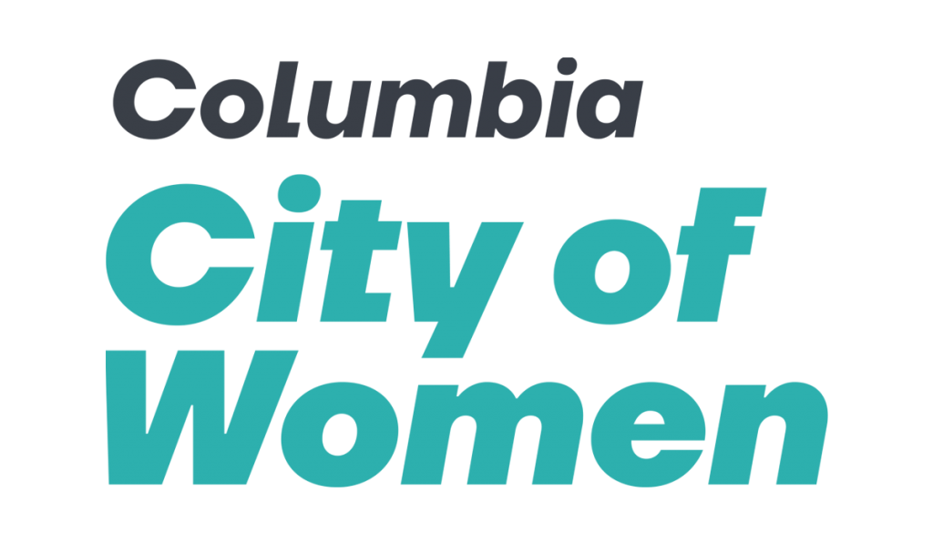 Columbia City of Women blue logo